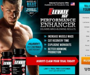 Elevate IGF – Truth Review, Side Effects, Ingredients & Where To Buy?